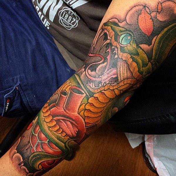 que significan los tatuajes de serpientes
