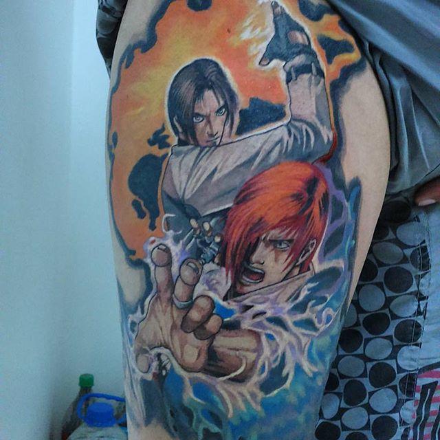 tatuaje de kof