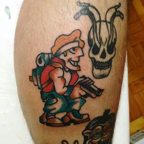 tatuaje de metal slug