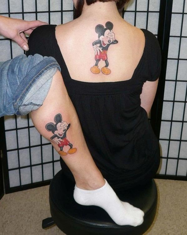 tatuajes de mickey para parejas