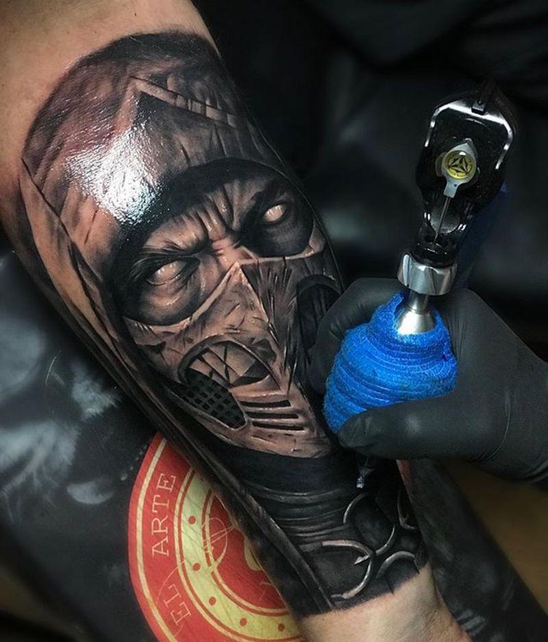 tatuajes de mortal kombat