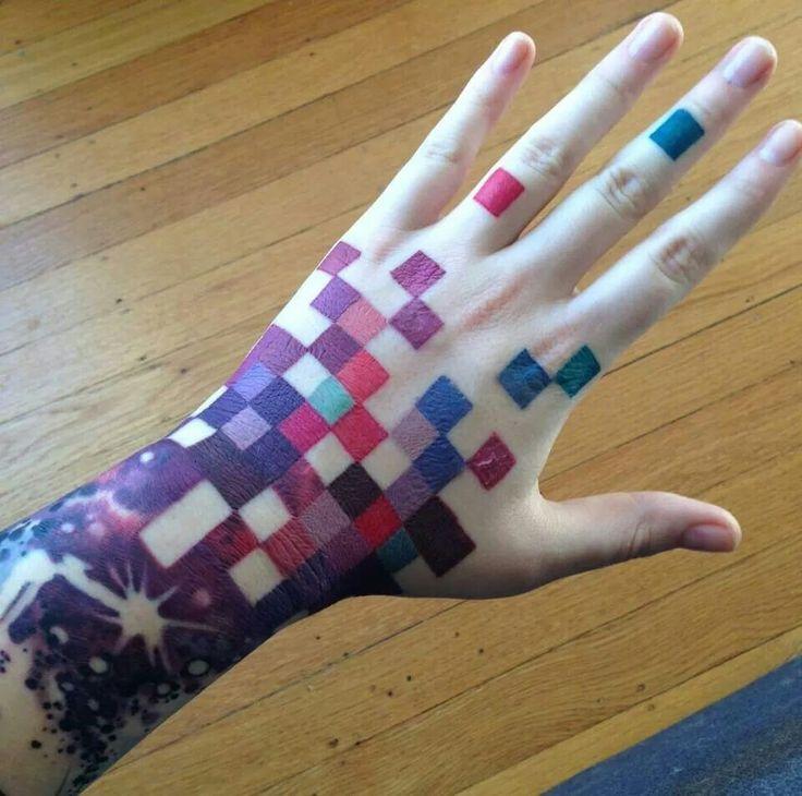 tatuajes de pixel