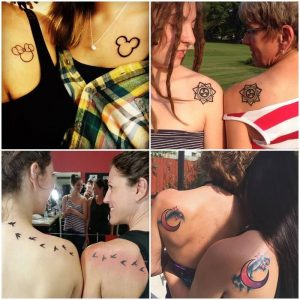 Tatuajes de Madre e Hija