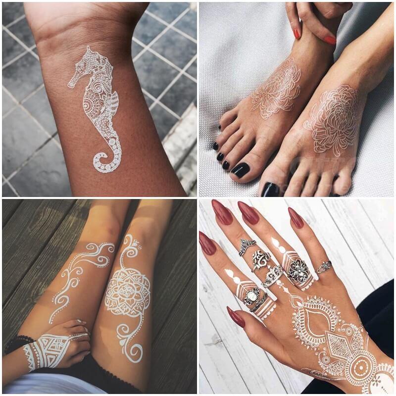 Tatuajes en Tinta Blanca