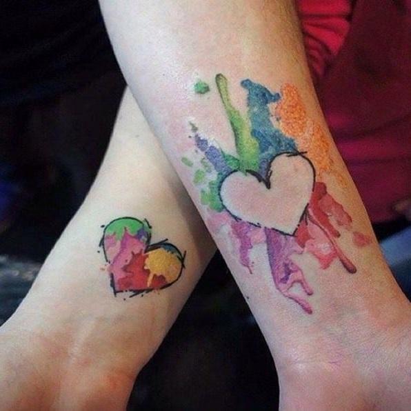 mejores tattoos para mama e hija
