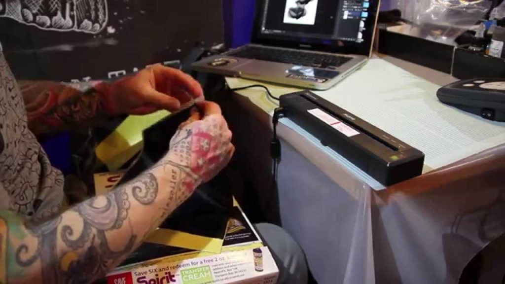 impresora de tatuaje