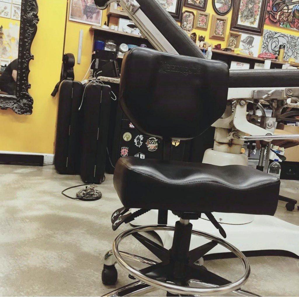 silla para tatuadores