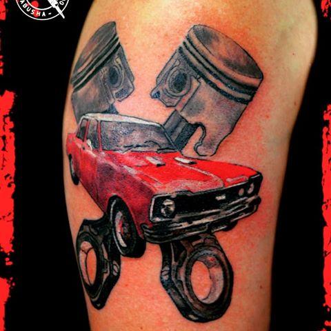 tatuaje de chevrolet 400