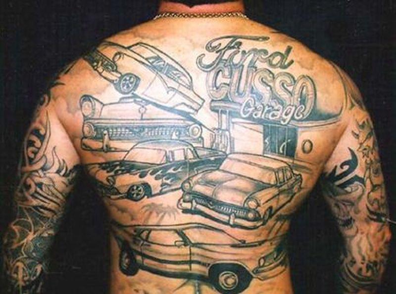 tatuajes de carros ford