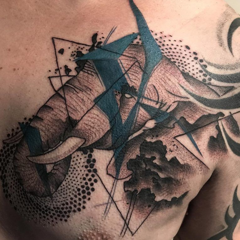 mejor tatuaje de elefante