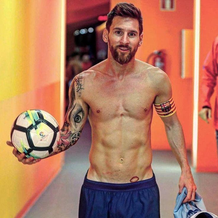 Tatuaje de beso de Messi