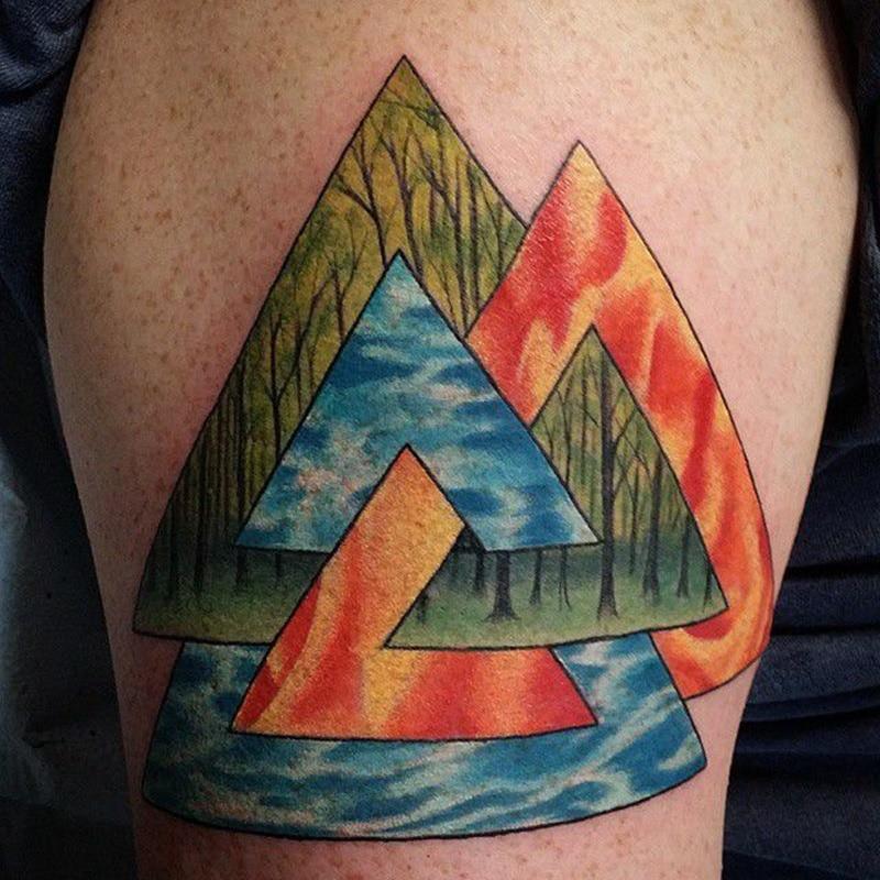que significan los tatuajes vikingos