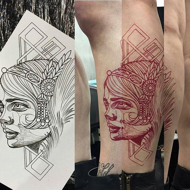 stencil para tatuajes barato