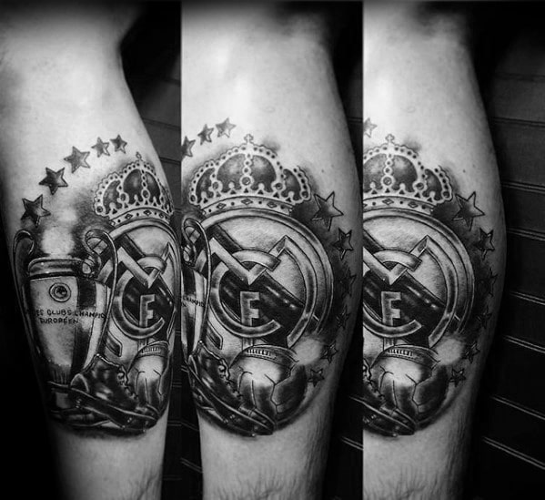 tattoo copa champions league real madrid