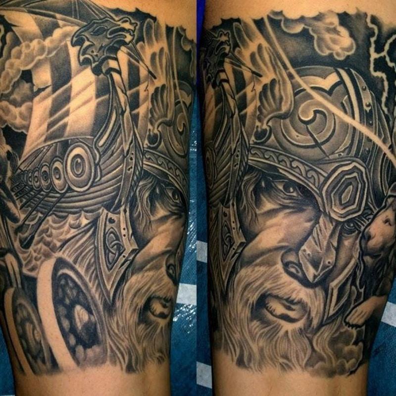 tattoo de vikingo