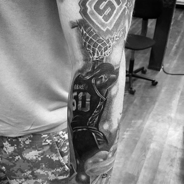 tattoo robinson spurs