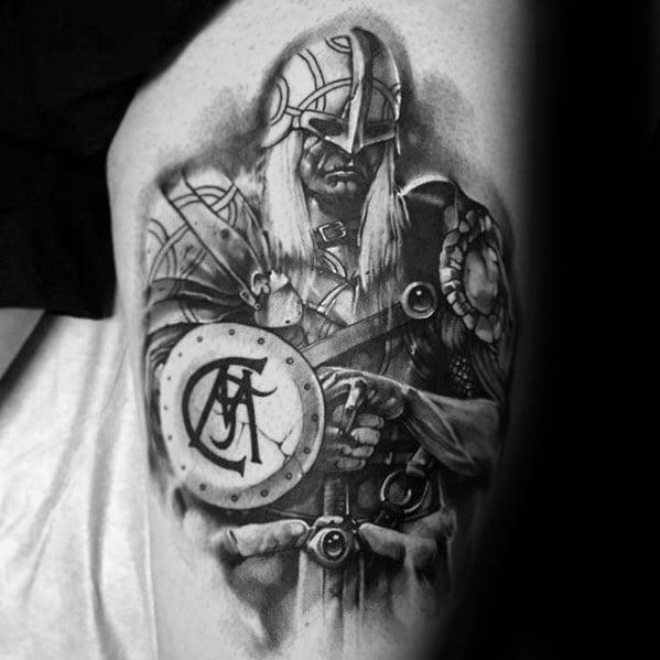 tatuaje original del madrid