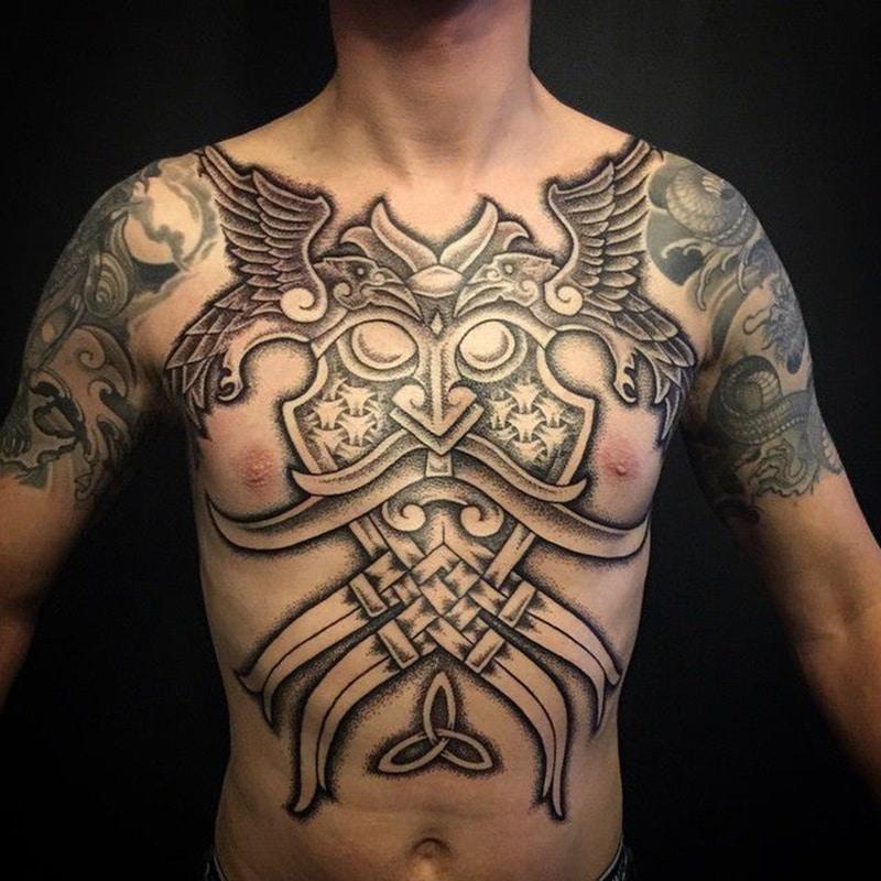 tatuajes de la cultura nordica