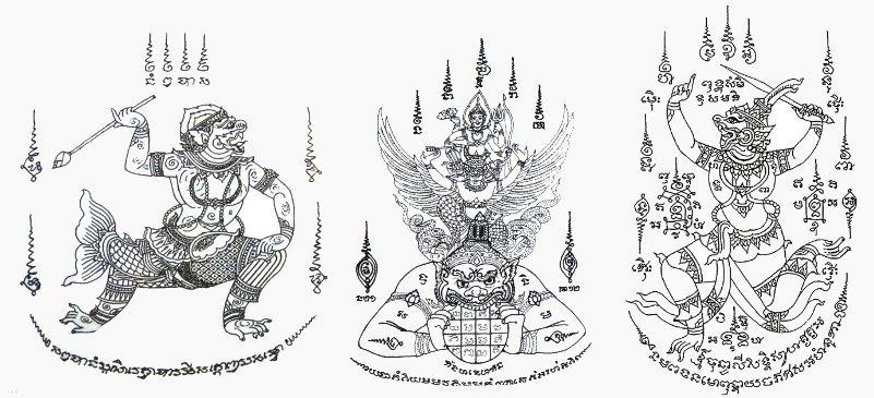 Hanuman Sak Yant