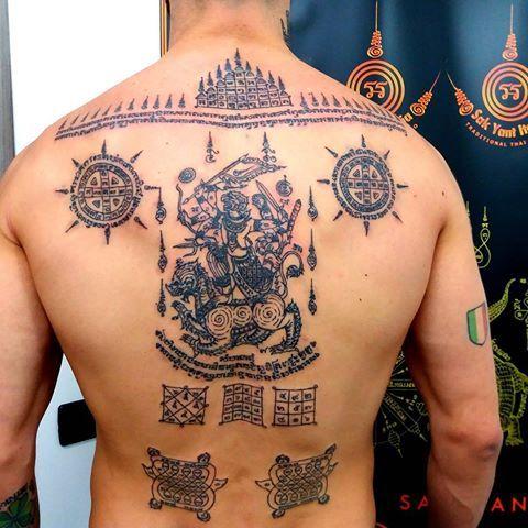 mejores tatuajes de la cultura tailandia para hombres