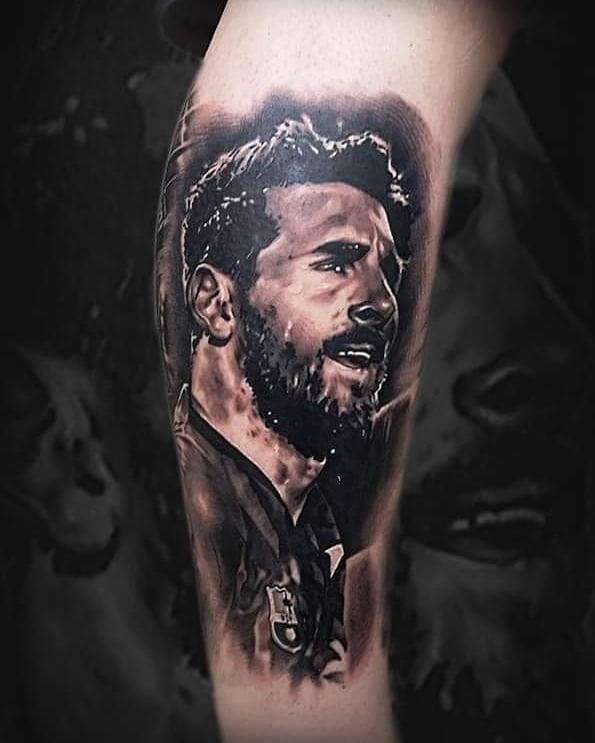 tattoo de messi