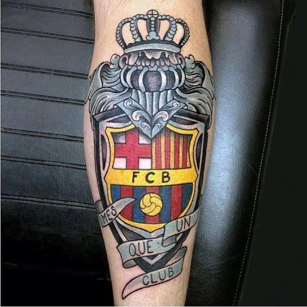 tatuaje barcelona mes que un club