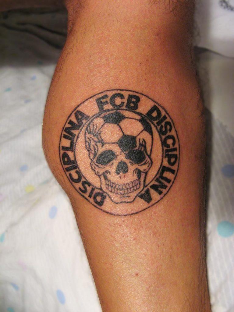 tatuaje culé