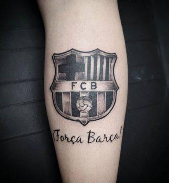 tatuaje força Barça