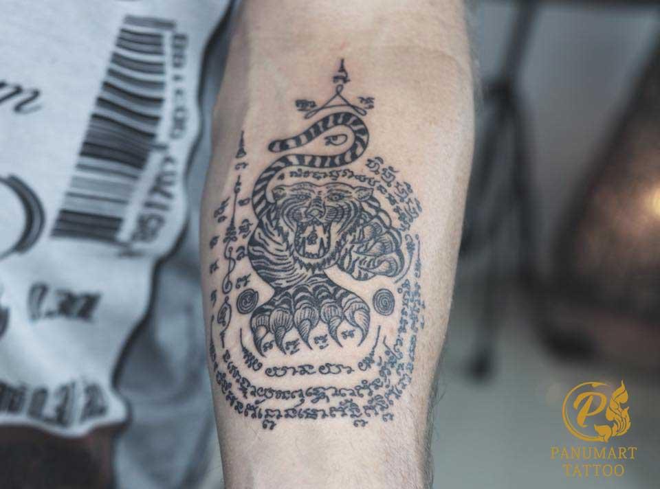 tatuaje tigre tailandes