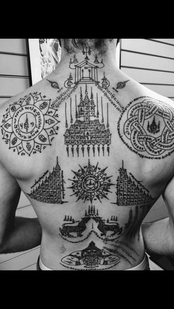 tatuajes de la cultura tailandesa