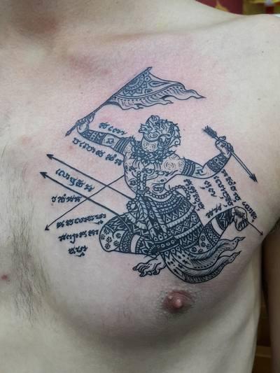 tatuajes de tailandia