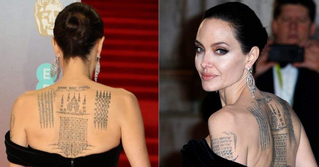tatuajes tailandes de angelina jolie