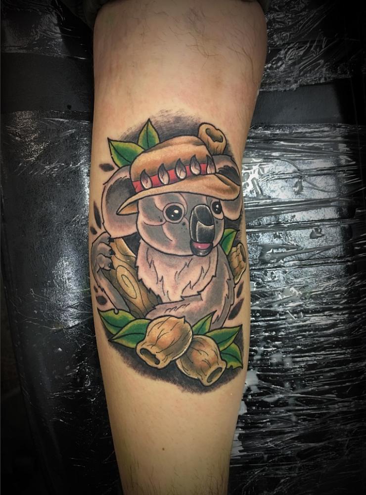 mejores tatuajes de koalas