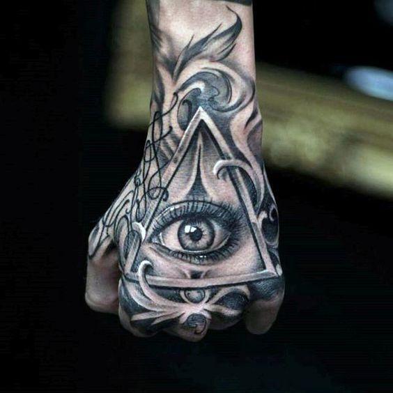 que significa el tatuaje de illuminati