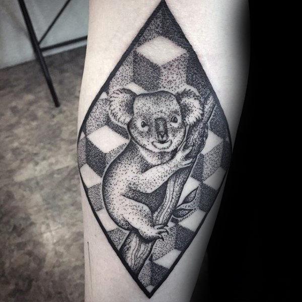 que significa el tatuaje de koala