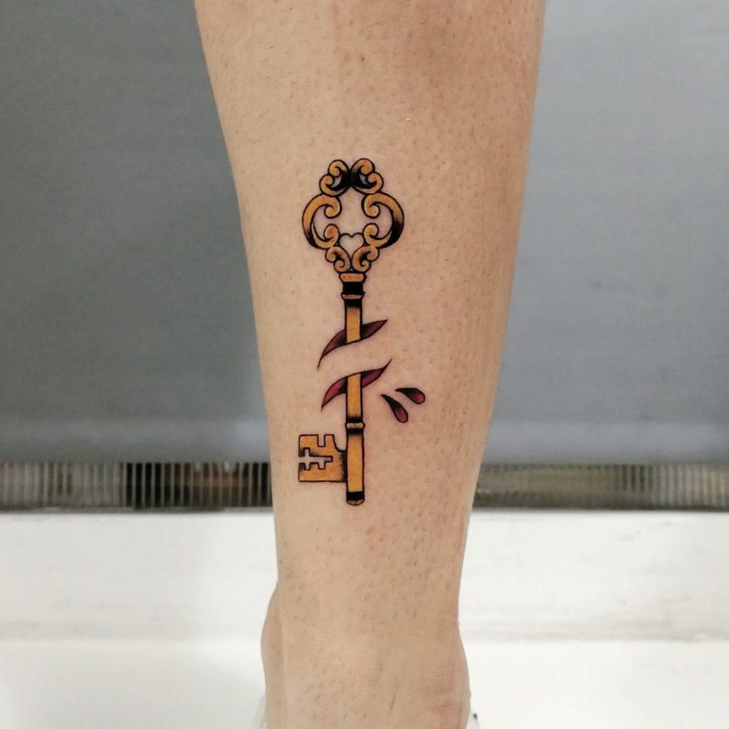 significado del tatuaje de llave