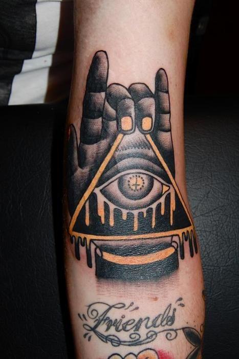 simbolismo del tattoo illuminati