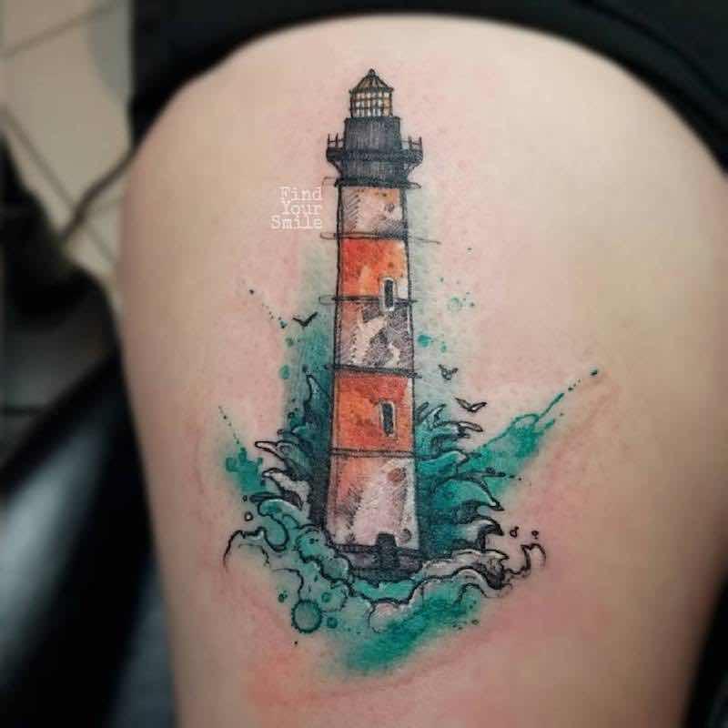 simbolismo del tatuaje de faro
