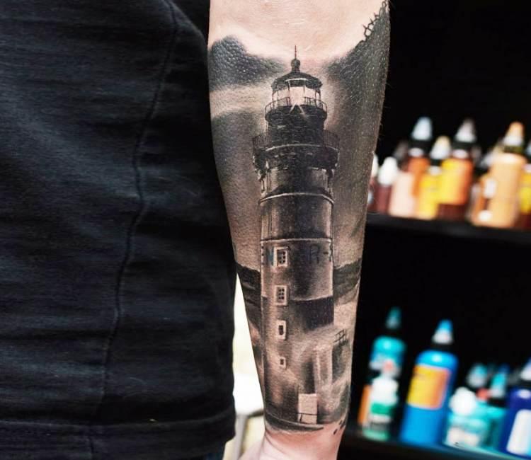 tatuaje del faro del fin del mundo