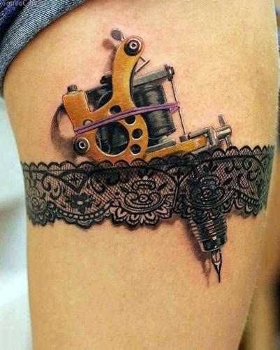Tatuaje de liga en 3D