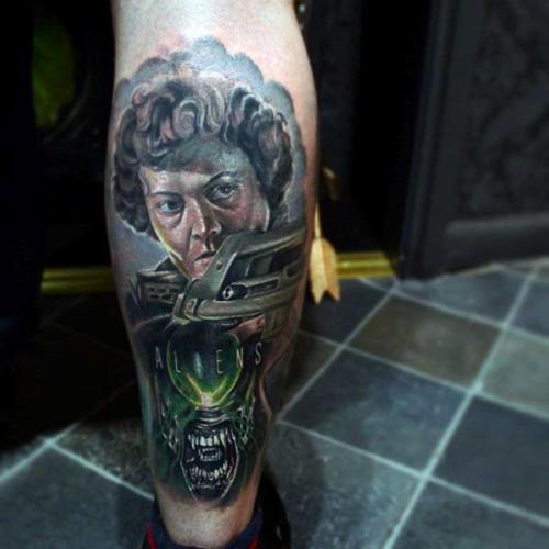 Tatuajes de Extraterrestres