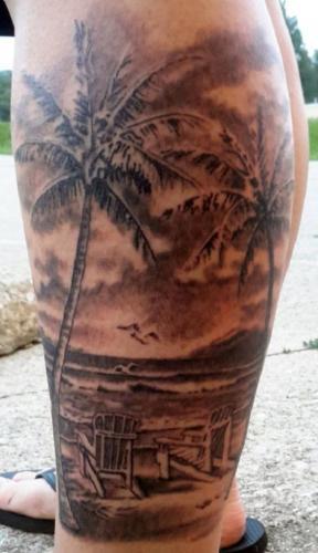 que significan los tatuajes de palmeras