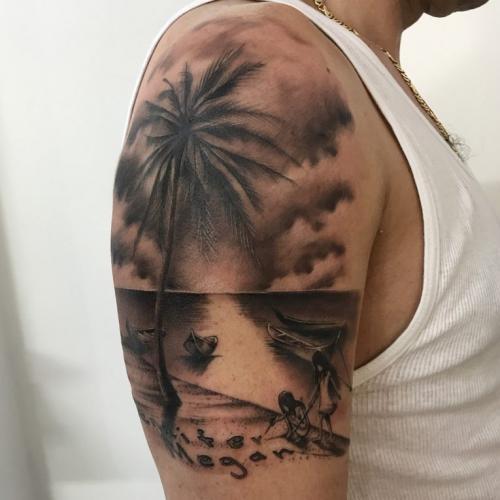 significado tatuaje de palmera