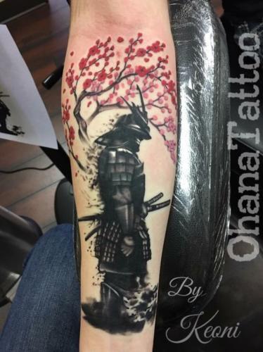 tatuaje de guerrero