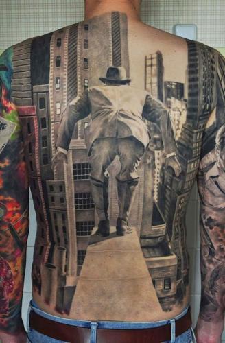 tatuaje realismo en 3 dimensiones