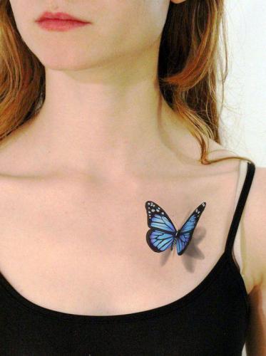 tatuajes de insectos en 3D